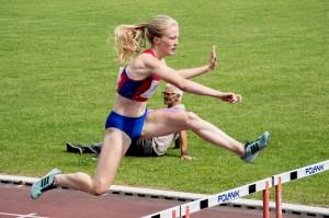 Martyna w biegu na 400ppł