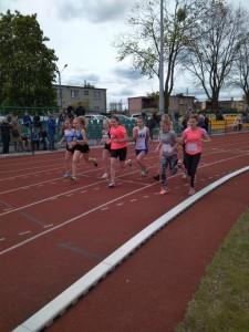 Start do biegu na 800m